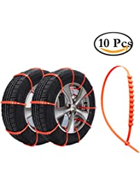 Amazon Com Snow Chains Tire Accessories Amp Parts