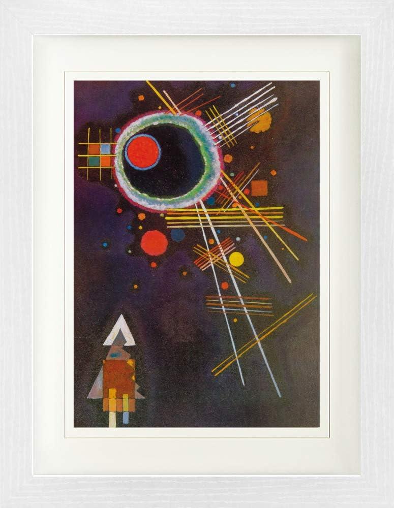 Strahlenlinien 1927 Gerahmtes Poster F/ür Fans Und Sammler 40 x 30 cm 1art1 Wassily Kandinsky