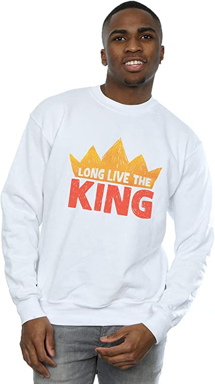 Disney Hombre The Lion King Movie Long Live The King Camisa ...