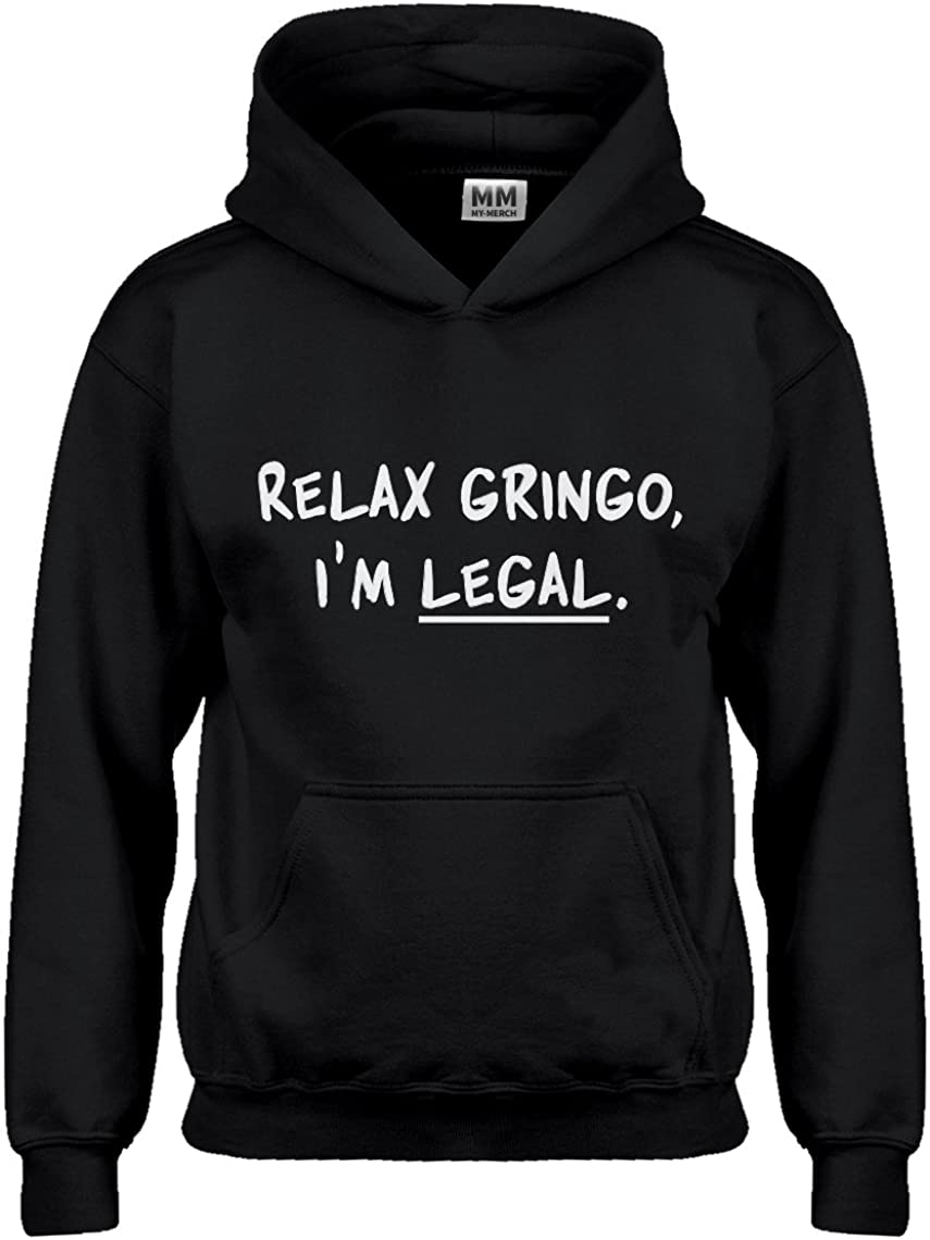 Indica Plateau Youth Relax Gringo Im Legal Kids Hoodie