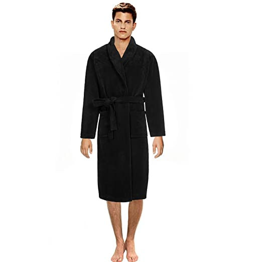 b2692121ea Image Unavailable. Image not available for. Color  Men s Long Robe