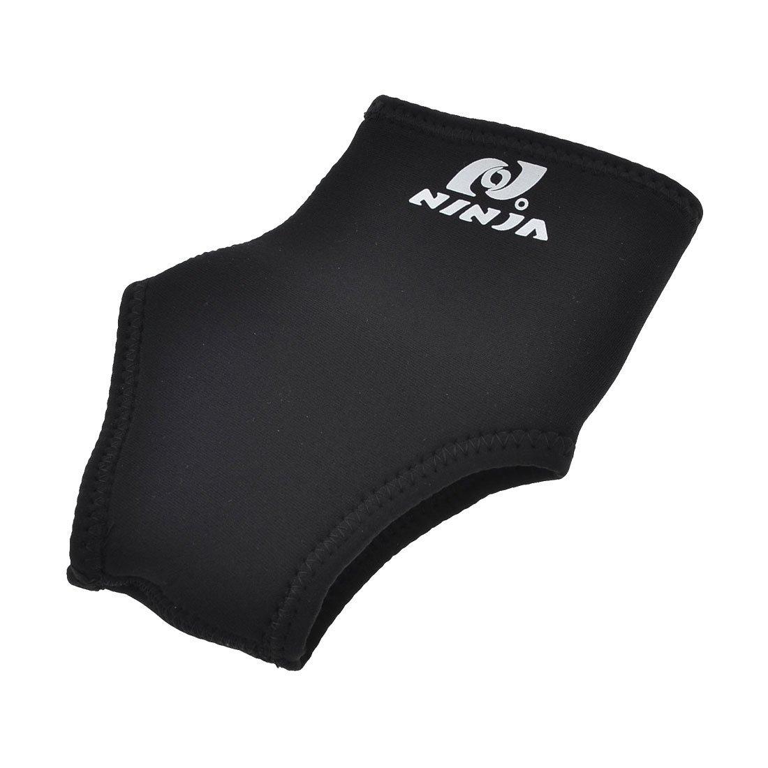 Amazon.com: eDealMax Atletismo Deportes elástico Protector de soporte Para el tobillo del Abrigo de Manga Brace Negro: Health & Personal Care