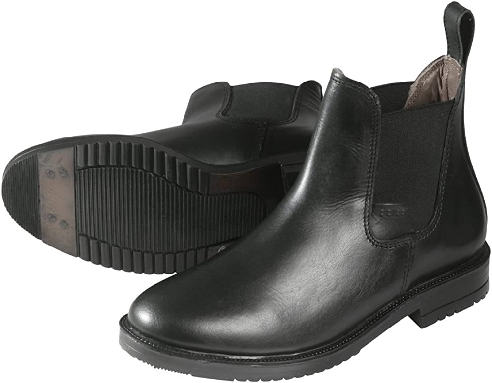 Men Black PFIFF Tendon Boots Adults Riding Jodhpur Boots REIT//Jodhpurstiefelette