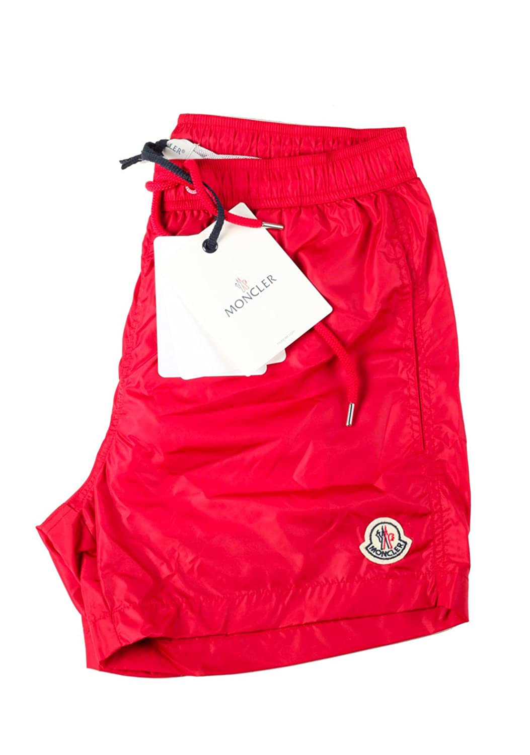 CL - Moncler Swim Trunks Size XXL / 40 U.S. Red
