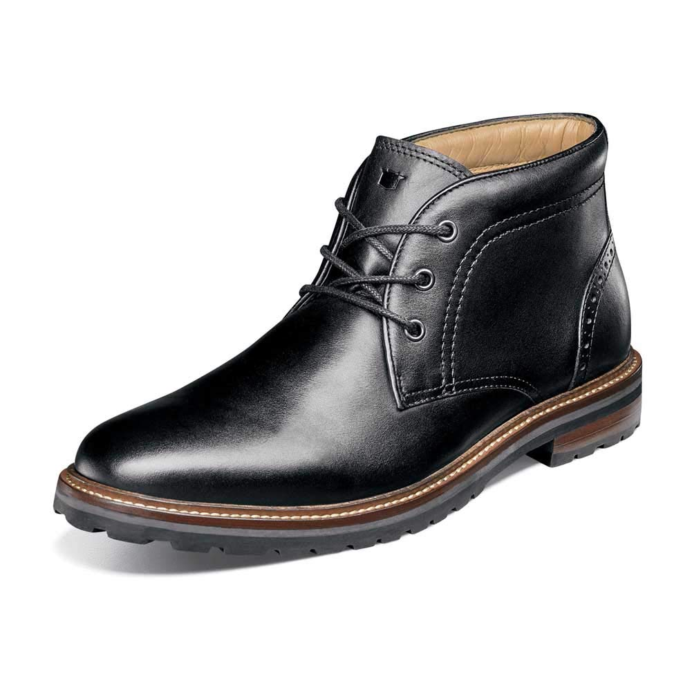 Black Smooth Florsheim Men's Estabrook Chukka Boot
