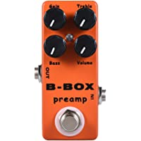ammoon MOSKY B-Box Electric Guitar Preamp Overdrive Effect Pedal Full Metal Shell True Bypass