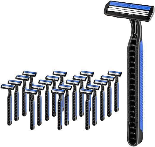Maquinilla de afeitar desechable de primera calidad de 20 piezas ...