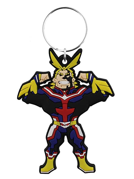 Amazon.com: My Hero Academia - Llavero multicolor, 1.8 x 2.4 ...