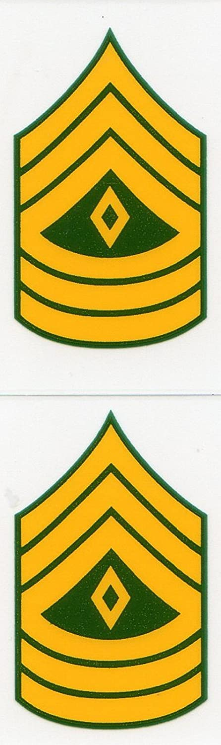 Army E-8 First Sergeant Mini Decal Sticker Mitchell Proffitt D157-A