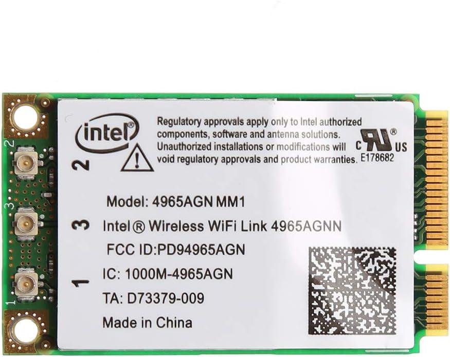 Chg Dual Band 300Mbps WiFi Link Mini Tarjeta inalámbrica PCI-E para 4965AGN NM1