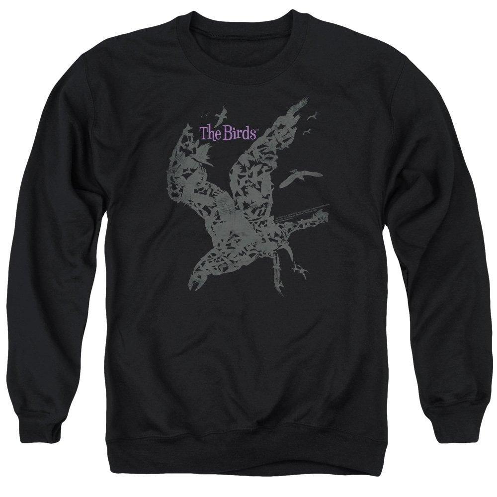 Poster Adult Crewneck Sweatshirt Birds