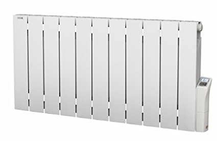 Acova Cotona LCD PC 55390033 radiador eléctrico de aluminio con inercia de fluido, blanco,
