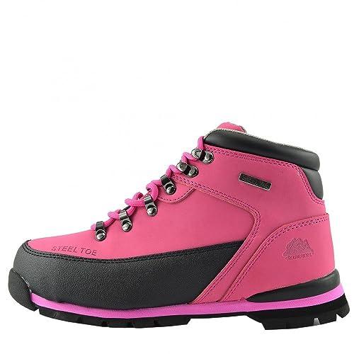 Botas de seguridad para trabajo New Comfort para mujer - UK8 / EU41, Fucsia