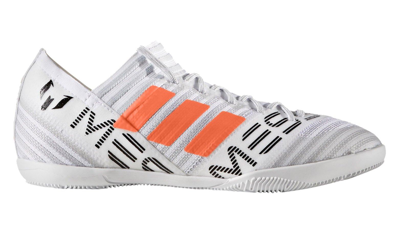 adidas Originals Boys' Nemeziz Messi Tango 17.3 in J Soccer Shoe, White/Solar Orange/Black, 10.5 Medium US Little Kid