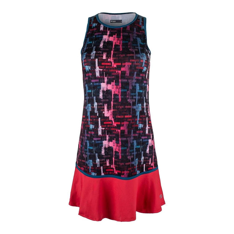 ddeeef09 Amazon.com: Lija Women`s Shake it up Tennis Dress Tile Print and ...