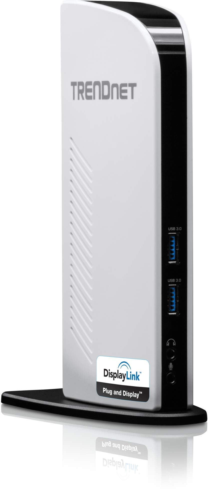 TRENDnet USB 3.0 Universal Docking Station, Dual Video Outputs, Windows and Mac (10.9 - 10.13.3) Compatible, HDMI and DVI/VGA, Gigabit Ethernet, Audio, Plug & Play, TU3-DS2 by TRENDnet