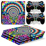 Cheap GoldenDeal PS4 Pro Console and DualShock 4 Controller Skin Set – Weed 420 – PlayStation 4 Pro Vinyl