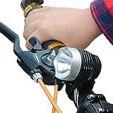 Yolaird 高輝度 自転車ライト 自転車前照灯 ヘッドライト CREE XML Q5 LED 3000ルーメン 自転車アクセサリー 3モード 内蔵バッテリー 懐中電灯 小型 防水