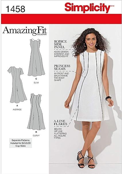 Simplicity Misses Dresses-20w-28w