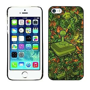 Stuss Case / Funda Carcasa protectora - Modelo Retro Gaming - iPhone 5 / 5S