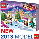 Lego New Friends Advent Calendar for Christmas Xmas 2013 24 Girls Gift Toy 41016 Cute Gift Special Day Fast Shipping Ship Worldwide From Hengheng Shop