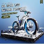 RICH-BIT-Bici-Elettrica-RT-022-Motore-Brushless-1000W-48V-17Ah-LG-Li-Battery-Smart-e-Bike-Shimano-21-velocita-Doppio-Disco-Freno