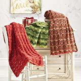 Herrschners® Christmas Ripple Trio Afghan Kit