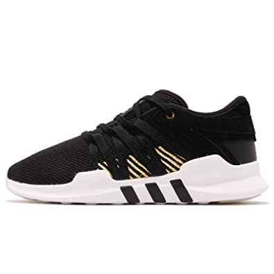 quality design d512a 3b30c Amazon.com | adidas Women's EQT Racing ADV W, Black/Gold ...