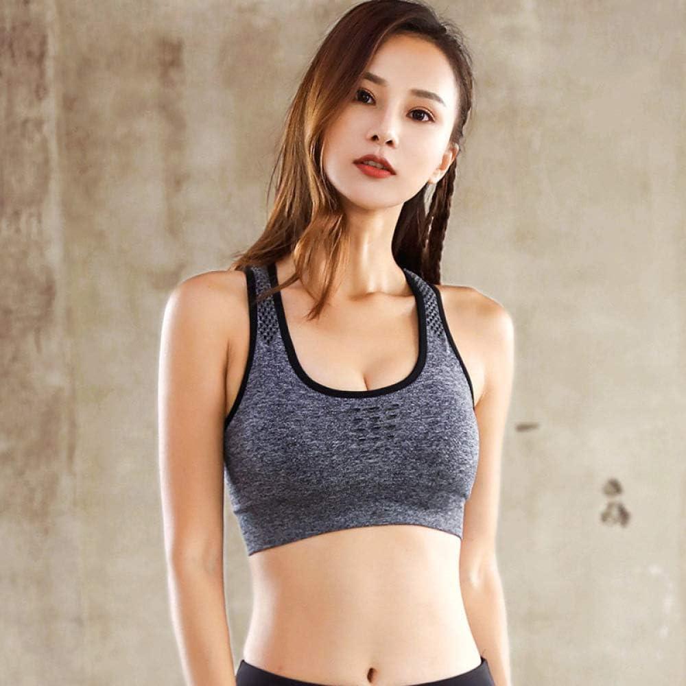 Tianyifeng Sin Anillo de Acero Yoga Ropa Interior Deportiva Mujer ...