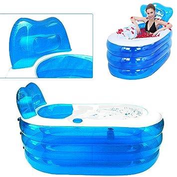 Bañera hinchable para adultos de Oukaning, de PVC, plegable, de ...