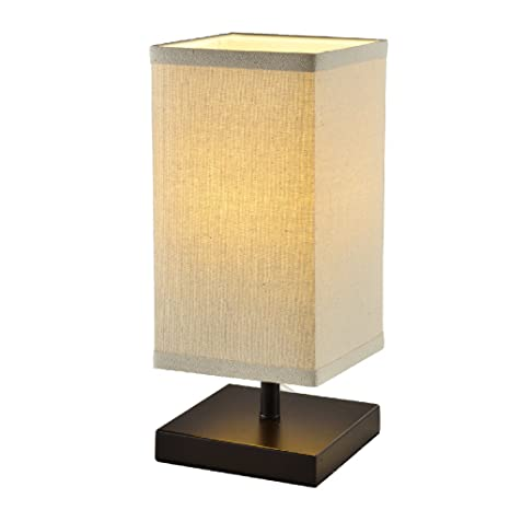 Mane Square Lantern Bedside Table Lamp Stylish Minimally Designed
