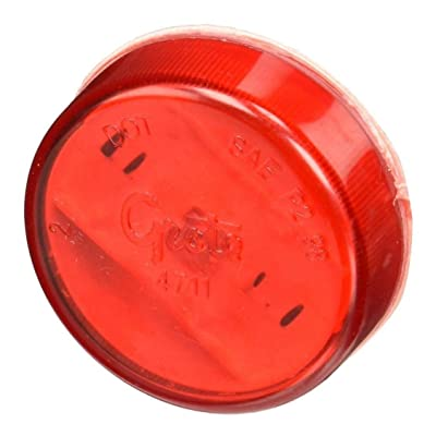 "Grote 47112 Red SuperNova 2"" LED Clearance Marker Light: Automotive"