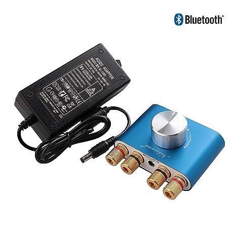 f2cb26f069a64c Nobsound Mini 50W x 2 Bluetooth Power Amplifier; 2.0 Channel Stereo Hi-Fi  Digital