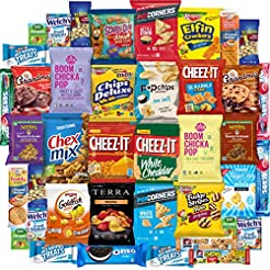 Snack Chest Care Package (40 Count) Vari...