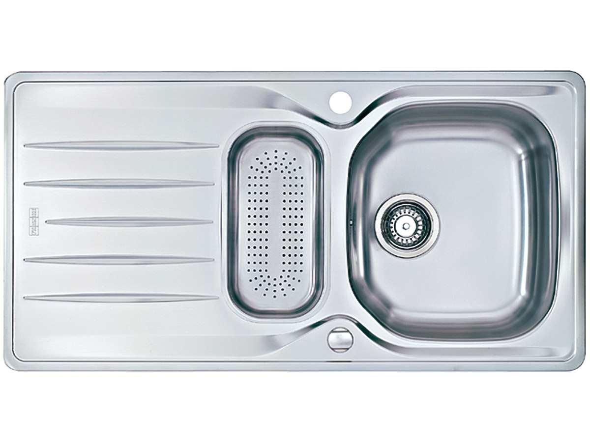 Amazon.de: Küchenspülen - Kücheninstallation: Baumarkt: 1 Becken ... | {Spülbecken edelstahl 62}