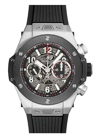 sale retailer 5b872 8a760 Amazon | [ウブロ] HUBLOT 腕時計 ビッグバン ウニコ チタン ...