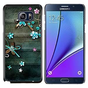 Stuss Case / Funda Carcasa protectora - Carta Vieja trullo del vintage - Samsung Galaxy Note 5