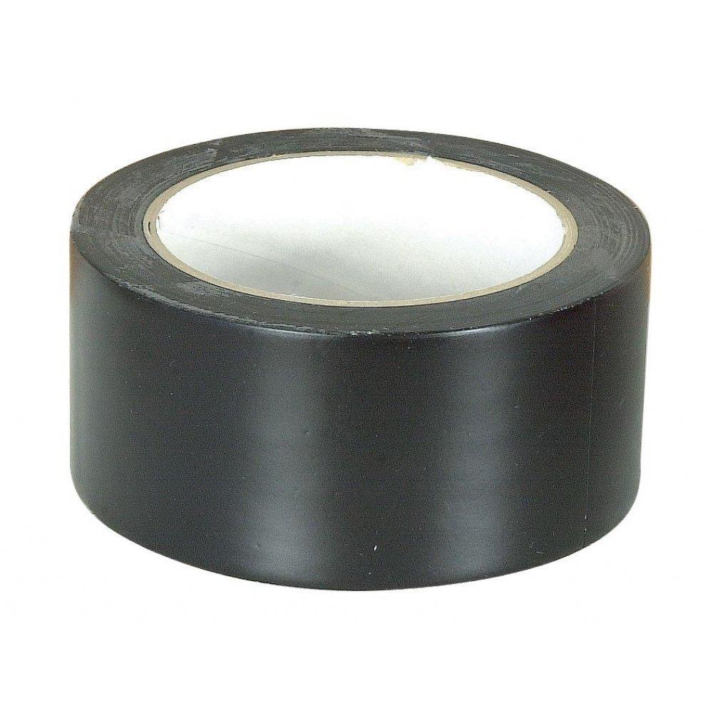 Ruban PVC plastifié pour reparation bache 50 mm x 33 mètres noir Les Outils