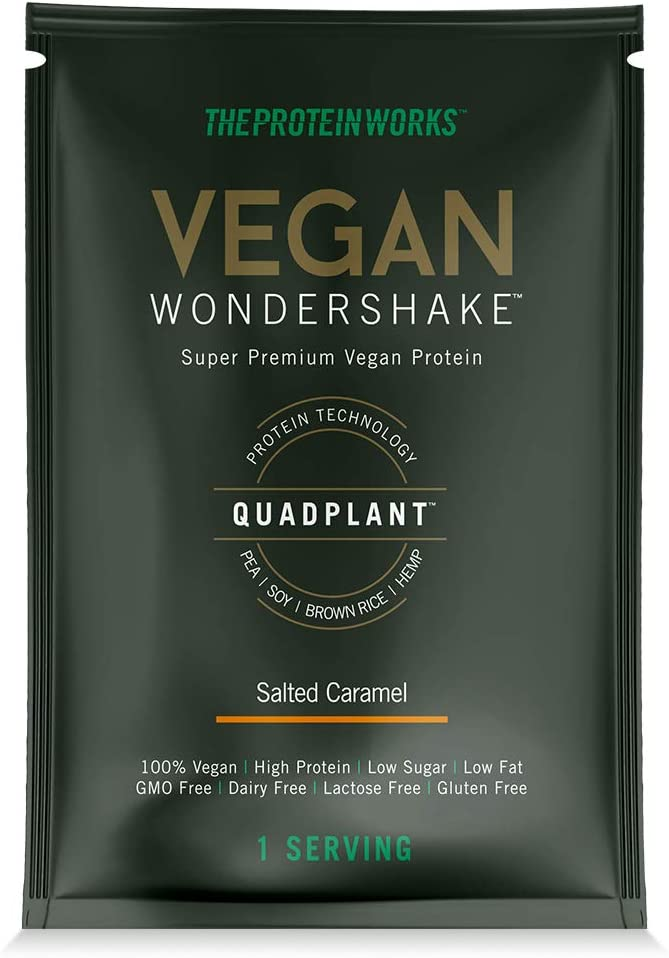 The Protein Works Vegan Protein Wondershake 25g