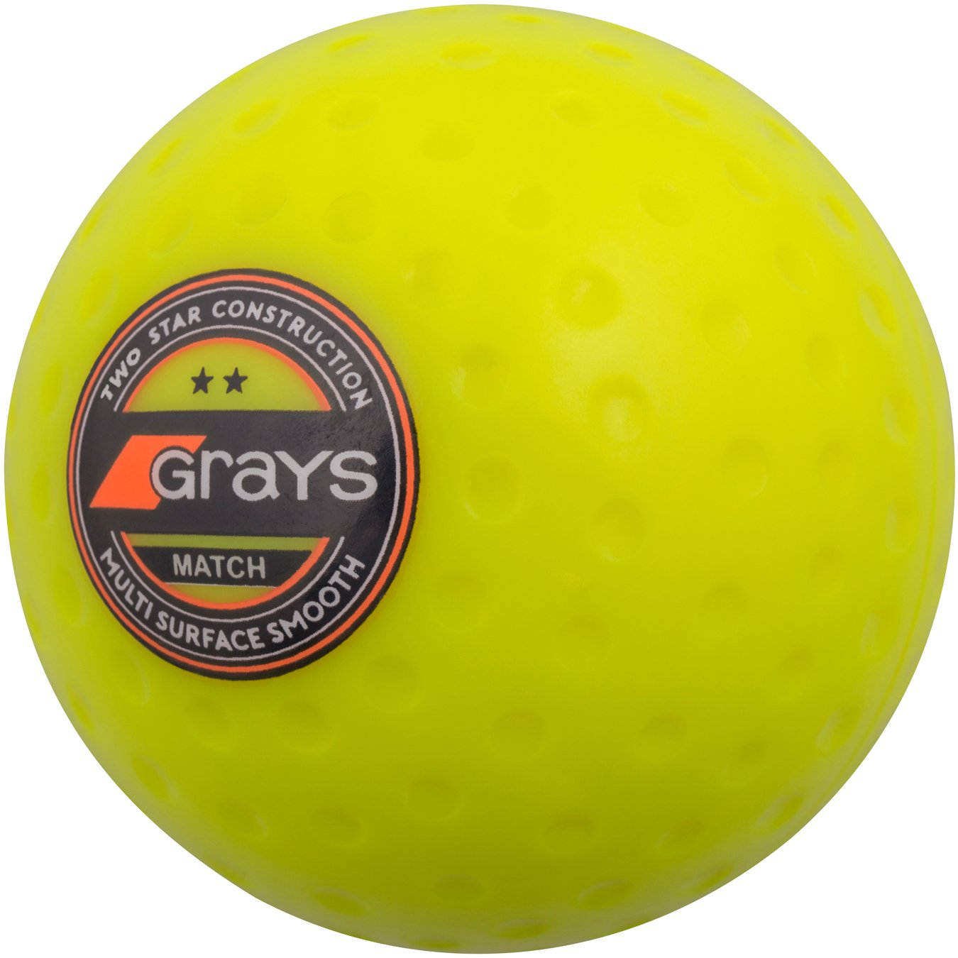 GRAYS Match Bola de Hockey, Amarillo 644504