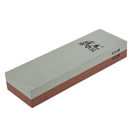 Corindon Piedra de afilar - Taidea 120/400 grano Combinacion ...