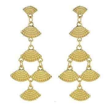 erster Blick große Vielfalt Stile weltweite Auswahl an Daeou Damen Ohrringe Ohrringe großen Arabischen ...