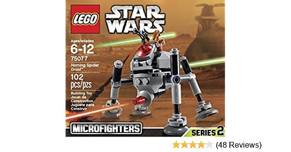 Amazon Lego Star Wars Microfighters Series 2 Homing Spider