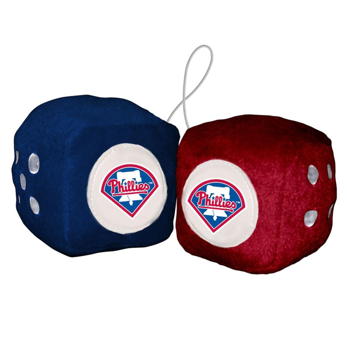 人気が高い MLB Philadelphia MLB Phillies Phillies PlushチームFuzzy Dice、ブルー B00162AK92 B00162AK92, タツノマチ:f65b426f --- cliente.opweb0005.servidorwebfacil.com