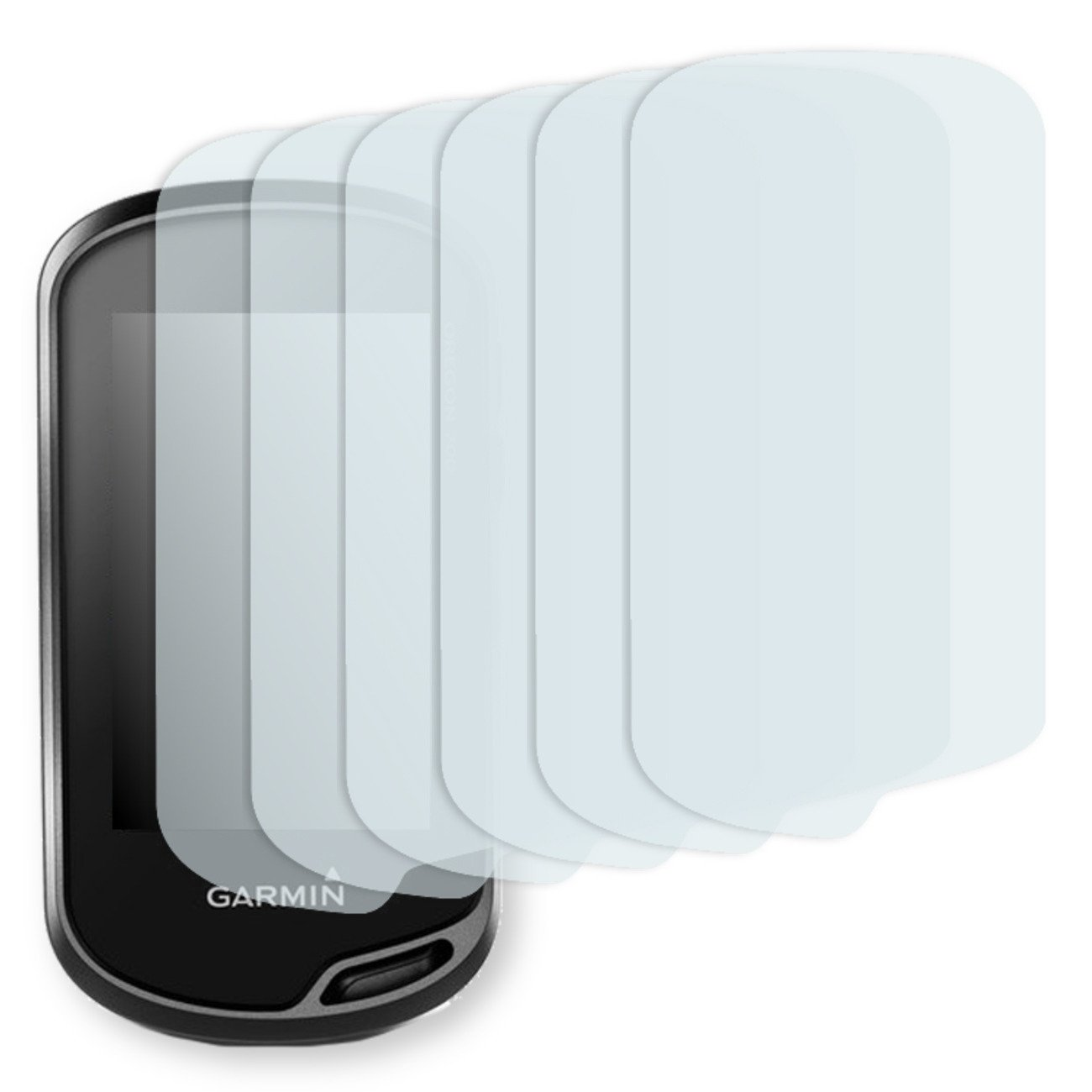 6X Golebo Crystal Clear Screen Protector for Garmin Oregon 700 - (Transparent Screen Protector, Air Pocket Free Application, Easy to Remove)