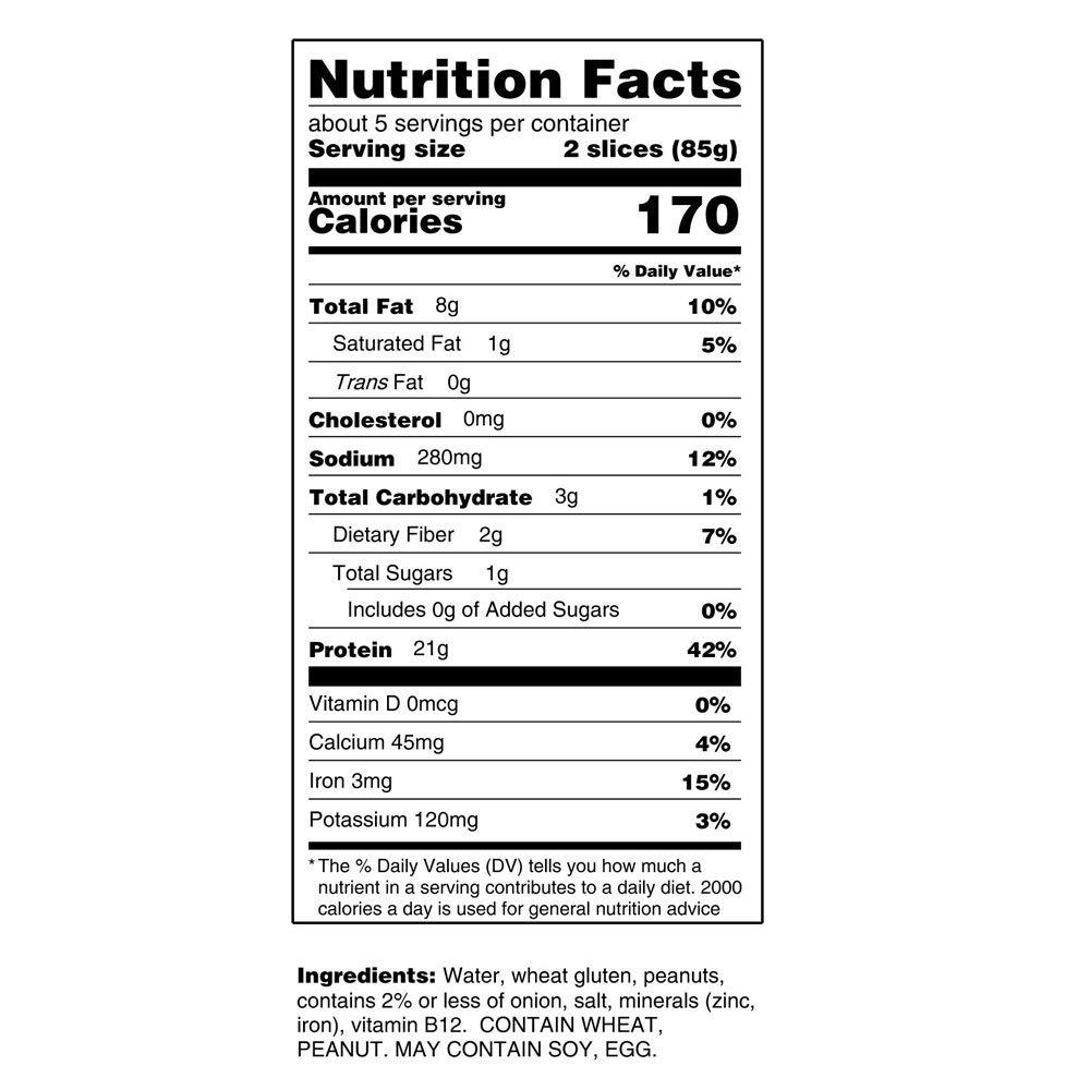 Loma Linda - Plant-Based - Nutmeat (14.6 oz.) (Pack of 6) - Kosher by Loma Linda (Image #3)
