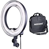 Neewer 14-inch 50W 5500K Un-Dimmable Fluorescent Ring Light with Carry Bag for Portrait Photography YouTube Video Shooting Selfie Make-up Hair Salon (Only Light)