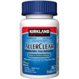 Kirkland Signature Non Drowsy AllerClear - 365 Tablets