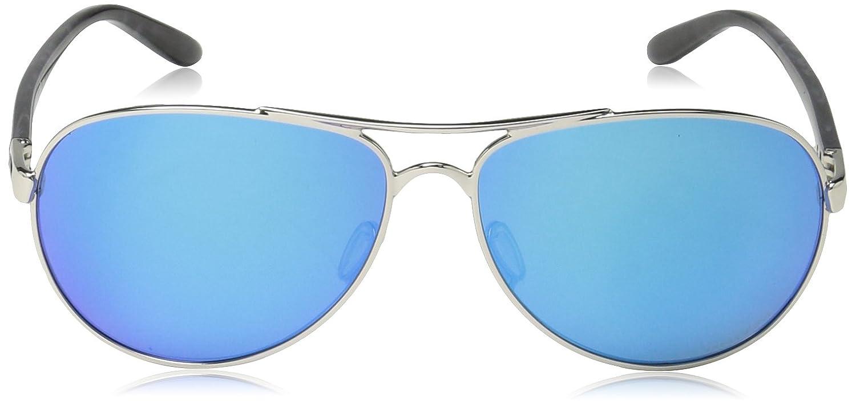 Oakley FEEDBACK Polished Chrome Prizm Sapphire polarisierten ...