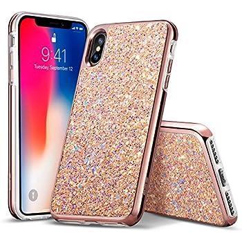 custodia iphone x glitter